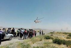 نجات 5 جنگلبان گرفتار در کوه خامی + ببینید