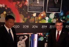 دیدار رییس جمهور چین و توماس باخ
