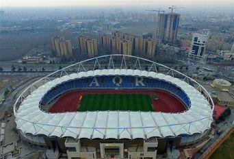 تصاویر هوایی از ورزشگاه ۲۵ هزار نفری امام رضا(ع)
