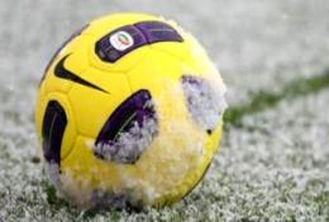 یخ بندان باز هم فوتبال انگلیس را تعطیل کرد!
