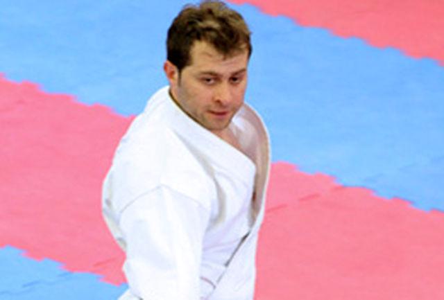 شکست کاراته کای ایرانی مقابل حریف ونزوئلایی/حقیقی به گروه بازنده ها رفت