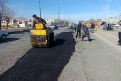 بهسازی شاهراه حمل و نقل جاده ای غرب کشور در همدان