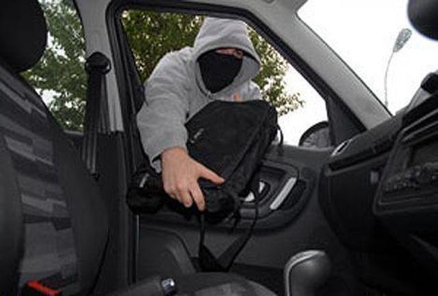 كشف 40 فقره سرقت داخل خودرو
