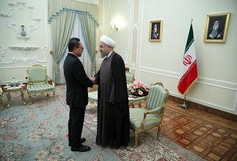 دکتر روحانی در دیدار رییس شورای مشورتی اندونزی