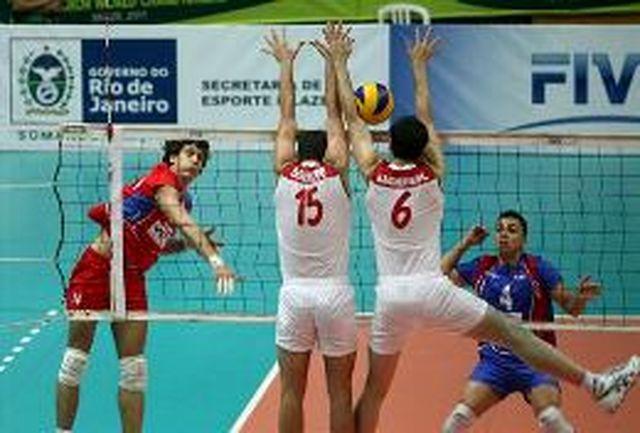 شکست جوانان والیبالیست ایران برابر ترکیه