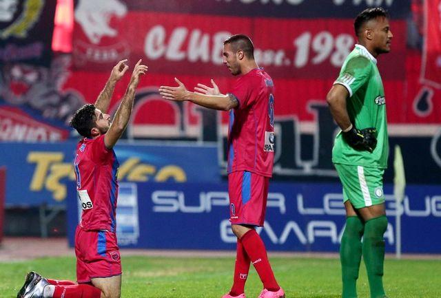 انصاری فرد کاندیدای بهترین بازیکن هفته هفدهم سوپر لیگ یونان