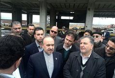 سلطانی فر از پروژه 10 هزار نفری کاله آمل بازدید کرد