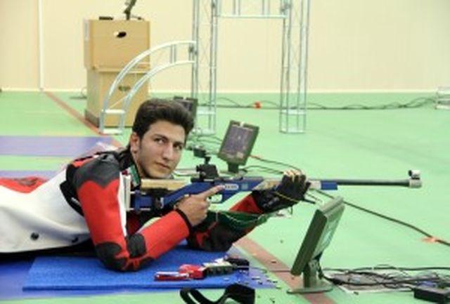 اردوی تیم ملی تیراندازی سلاح های بادی برپا می شود