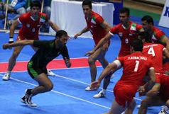 تیم ملی کبدی ایران مقابل تایلند به پیروزی رسید