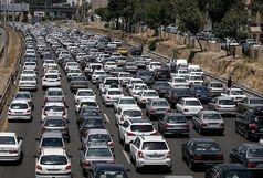 ترافیک نیمه سنگین در باند جنوبی آزادراه تهران-کرج