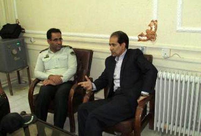 جلسه تعاملی دستگاه قضایی و پلیس خرم آباد برگزار شد
