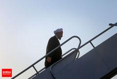 رییس جمهوری تهران را به مقصد سوچی ترک کرد