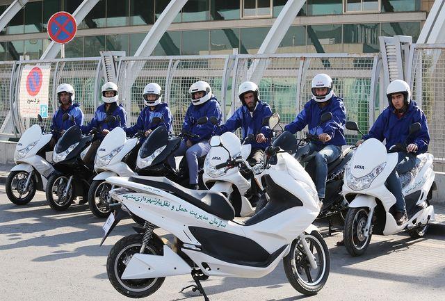 استفاده از موتور برقی برای حمل بار به منظور کاهش آلودگی در مشهد
