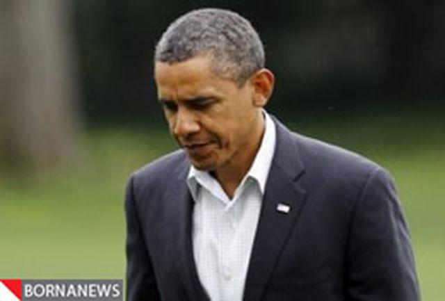 کاهش بیسابقه محبوبیت اوباما