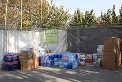 اولین محموله از کمکهای مردمی شهر سرابله به مناطق زلزله زده کرمانشاه ارسال شد