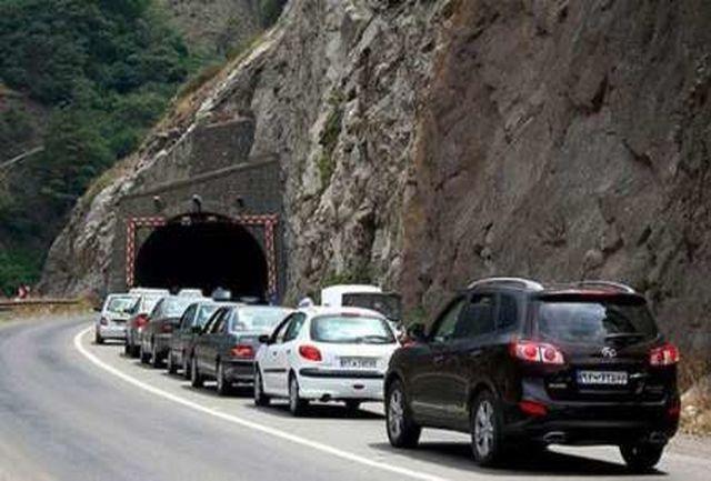 اجرا شدن محدودیت های ترافیکی در جاده کرج - چالوس از فردا