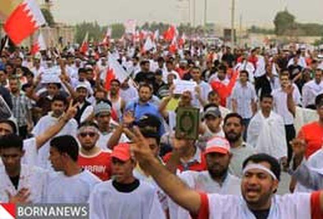 تظاهرات بحرینیها در حمایت از انقلابیون بازداشت شده