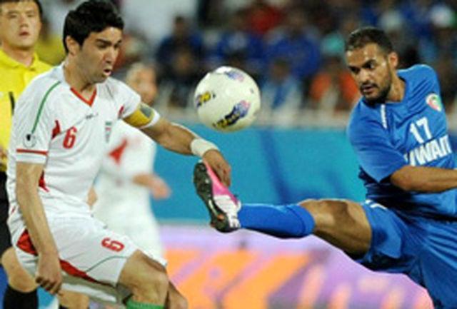 آغاز سال جدید تیم ملی با توقف مقابل کویت