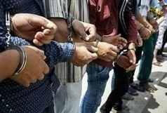 دستگیری 56 سارق ایرانشهر