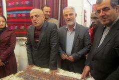 نمایشگاه صنایع دستی در بوئین زهرا افتتاح شد