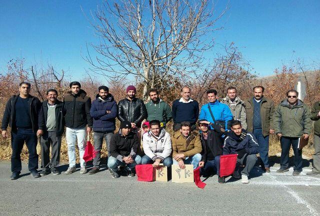 مسابقه دو صحرانوردی انتخابی استان در بروجرد برگزار شد