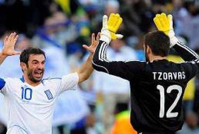 فهرست نهایی تیم ملی یونان در جام جهانی