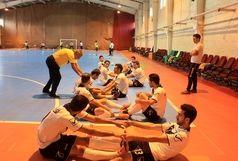 پیگیری تمرینات تیم ملی فوتسال در شهرکرد