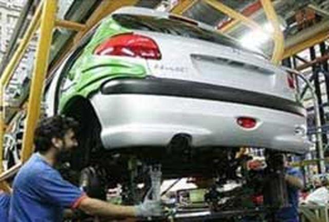 تولید بیش از 730 هزار دستگاه انواع خودرو