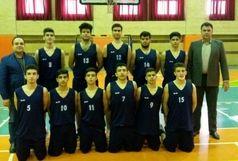 تیم هیأت بسکتبال کردستان به دور دوم رقابت های لیگ نوجوانان کشور صعود کرد