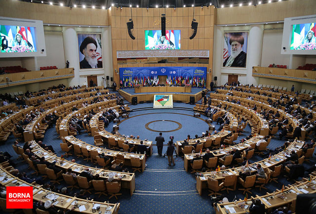 مراسم اختتامیه ششمین کنفرانس حمایت از انتفاضه فلسطین آغاز شد