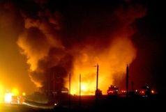 انفجار در خط لوله گاز ایران به ترکیه