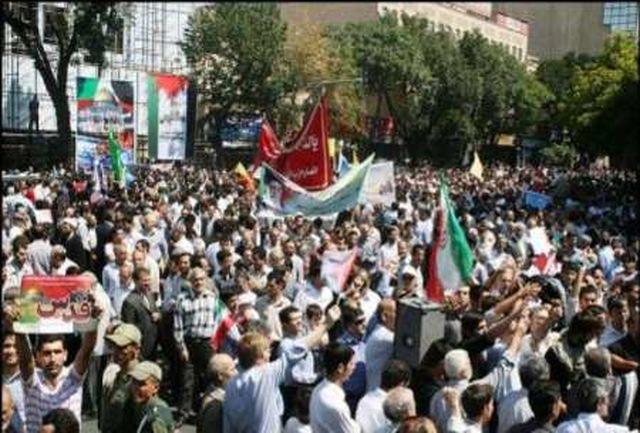 مردم مومن و انقلابی تبریز حماسه کم نظیری رقم زدند