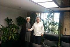 دیدار معاون رئیس جمهوری ایران و معاون اقتصادی رئیس جمهوری کوبا