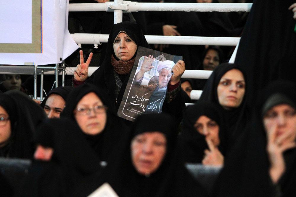 تصاویر مراسم هفتمین روز ارتحال آیت الله هاشمی رفسنجانی