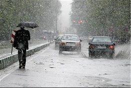 بارش باران در مناطقی از هرمزگان/ افت دما در سواحل دریای خزر