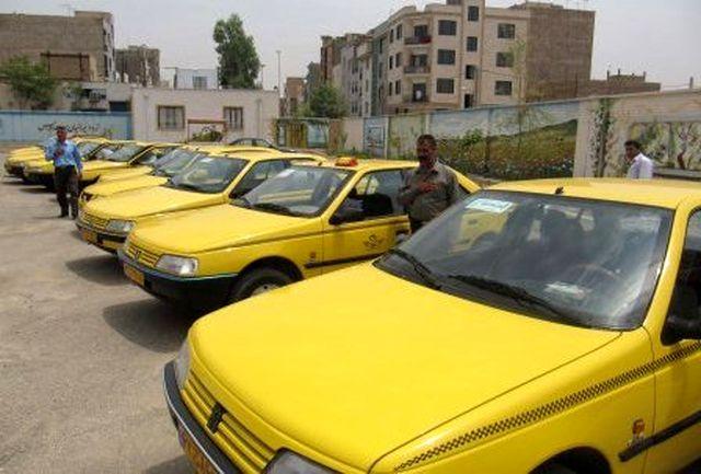 اندازه گیری میزان آلایندگی تاکسی های درون شهری ارومیه