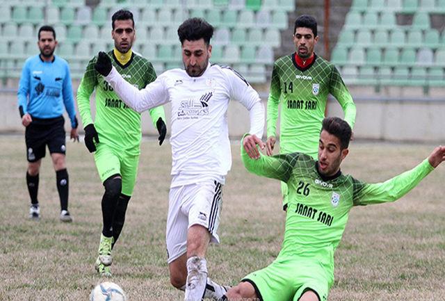 صعود خوشه طلایی ساوه به لیگ دسته دوم فوتبال