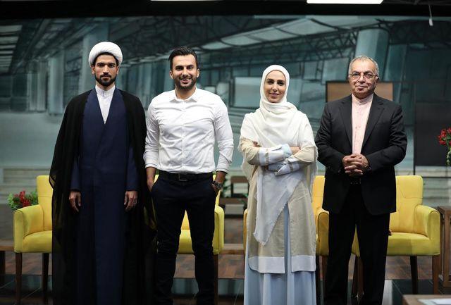فروتن و طهماسبی و حاج آقا داور مهمان محمدحسین میثاقی