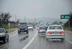 جاده های البرز لغزنده است رانندگان احتیاط کنند