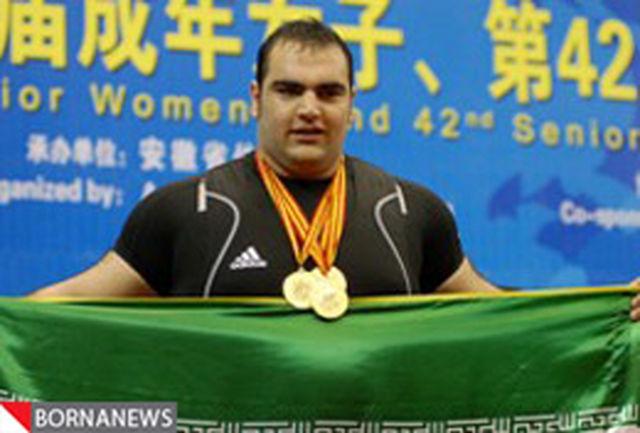 بهداد سلیمی: یک سال در آرزوی مهار وزنه 260 کیلوگرمی بودم