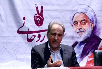 نشست خبر محمدعلی نجفی رییس ستاد فرهنگیان دکتر روحانی