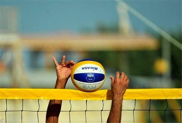 آغاز رقابت های والیبال ساحلی ارگان های دریایی