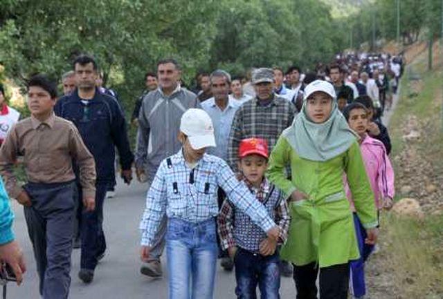 همایش پیاده روی خانواده وکتاب در یاسوج برگزار می شود