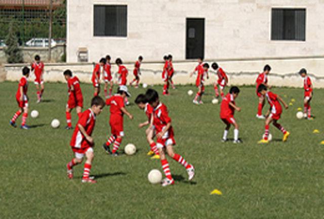 برگزاری دومین اردوی استعدادیابی فوتبال نوجوانان غرب کشور