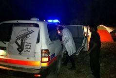 سرکشی شبانه سپاه به چادرهای زلزله زدگان
