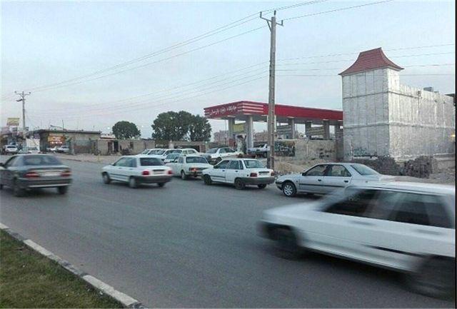 جایگاه CNG شهرداری فردوس پس از یک ماه تعطیلی راهاندازی شد