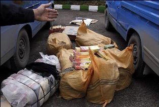 محموله های یك میلیارد ریالی كالای قاچاق در اصفهان توقیف شد