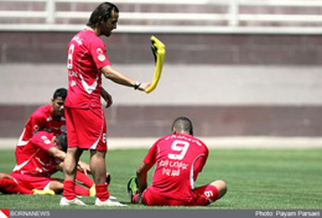 پسران بارسلونایی کریمی در تمرین پرسپولیس+عکس
