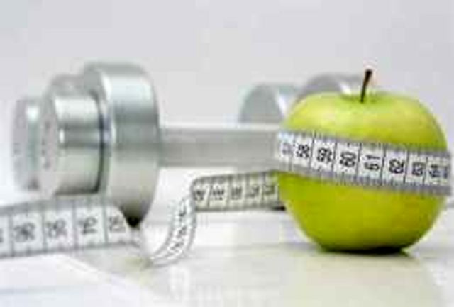کاهش و افزایش وزن با ورزش