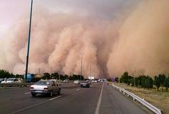 مسدود شدن محور «فهرج-زاهدان» بر اثر طوفان شن